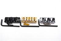 Chrome / nero / oro chitarra elettrica stringa di bloccaggio Dadi per Floyd Rosa della chitarra elettrica del ponticello del Tremolo trasporto di commerci all'ingrosso