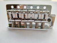 Puente de la guitarra del cromo del oro puente vibrato individual trémolo Elecric la guitarra para la guitarra eléctrica en la acción