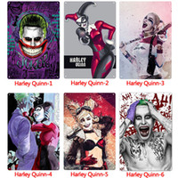 Commercio all'ingrosso Harley Quinn Metal Signs Tin Painting Home Decor Poster Crafts Supplies Wall Art Immagine 20 * 30 cm Bar, Cafe, KTV Wall Decor