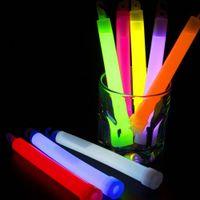 Haoxin 15 CM Industrial Grade Glow Sticks партии Химическая Люминесцентные химический источник света Хэллоуин висячие украшения Кемпинг мигалки