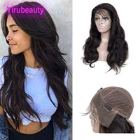 Peruvian Virgin Hair 13X4 Lace Front Wigs Body Wave Lace Wig...