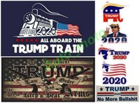 NUEVO Trump 2020 pegatinas de vagones de tren locomotora Keep and Bear Arms Train Pegatinas de ventana Hogar Sala de estar Decoración Pegatinas de pared envío gratis