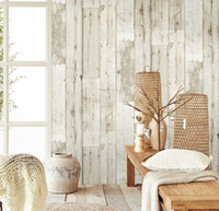 3d Vintage Faux Wood Panel Wallpaper for walls self adhesive...