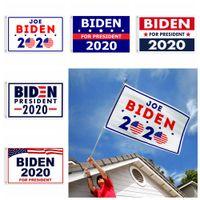 90 * 150CM جو بايدن الأعلام 2020 USA الحزب الرئاسي إمدادات الديكور صالح الانتخابات 3FT في الهواء الطلق * 5FT راية العلم FFA4070