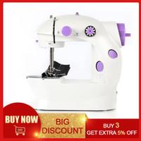 Elektrische Mini-Nähmaschine für Home Handmaschine zum Nähen von 110 / 220V Geschwindigkeitsanpassung mit leichter Hand-Nähmaschine