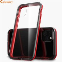 Transparent TPU PC Hybrid Slim Phone Cases Cover For iPhone ...