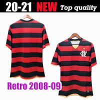 Retro CR 2008 2009 Flamengo Futbol Forması Flamenko 08 09 Retro Camisa de Futebol Guerrero Diego Futbol Gömlek