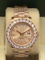 다이아몬드 손목 시계 2813 고품질 자동 운동 사파이어 원래 걸쇠 높은 품질 남성 스포츠 시계 44mm의 daydate의 하루가 될거야