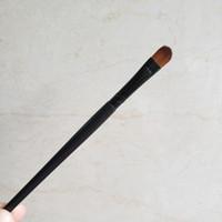 Professional Eyeshadow Makeup Brushes Set Black Wood Handle Synthetic Eye Cabelo sombra sobrancelha Eyeliner pincel Smudge Blending