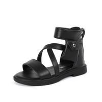 패션 검투사 2020 여름 신발 소녀들을위한 드레스 3 4 5 6 7 8 9 10 11 12 년 키즈 비치 샌들 어린 공주 크기 (37)