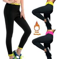 2cad708cd5 New Arrival. Long Sauna Pants Neoprene Legging Control Panties Fitness Body  Shaper Slim Super Stretch Capris Trouser Pant Women ...