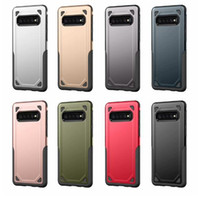 Military Shockproof Armor Hülle für Samsung Galaxy S8, S9, S10, Lite, J2, J6, J8, A8, A8, 2018, Note 8, 9 Hybrid-SiliconTough-Robust