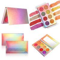 Toptan 8 Renkler Parlak Glitter Palet Kozmetik Makyaj Göz Farı Göz Farı Paleti Elmas Parlak Glitter Işıltılı Göz Farı Paletleri