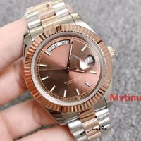 Rose Gold Luxury Mens Automatic DAYDATE Day- Date President A...
