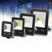 Telecomando RGB luce di inondazione, 4 modelli con 16 tonalità di colore Spotlight dimmerabili Modifica esterna di sicurezza luce della lampada di paesaggio