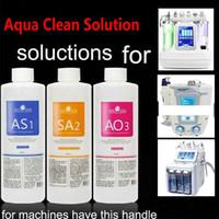 Microdermoabrasão Aqua Peeling Solution AS1 SA2 AO3 Garrafas 400ml por garrafa Hydra Dermaabrasão facial para a pele normal