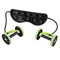 Professionelle Bauchtrainer Bauch Waist Trainer Puller Roller Fitnessgeräte Abnehmen Muskeltrainer Workout-Tool IS0355