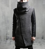 Winter Fashion Men' s Warm Jacket Korean Medium and Long...