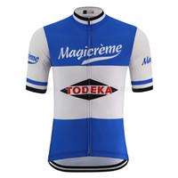 Yaz Retro Bisiklet Jersey Pro Takım erkek Kısa Kollu Yol Yarış Bisiklet Giyim Giyim Rahat Nefes Bisiklet Giysileri Bisiklet Gömlek