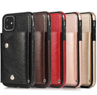 Retro Leather Case For iPhone 11 Pro Max XS XR X 8 7 Plus Ca...