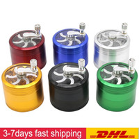 DHL Grinder With Handle Aluminium Alloy Herb 63mm Diameter G...