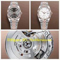 11 Цвет Новый стиль Cal.3235 Движение Унисекс часы Мужская розовое золото 126231 Дата 146 мм Юбилейный браслет 904L сталь GM заводской мужские мужские часы
