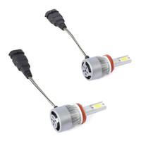 9005 / H10 / HB3 voiture LED Ampoule de phare 36W 6000K 4000 Lumens extrêmement lumineux Chips Kit de conversion - Argent