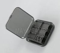 24 في 1 واضح الأسود ل ns لعبة بطاقة حالة تخزين مربع التبديل لعبة حامل بطاقة الذاكرة sd حمل خرطوشة مربع