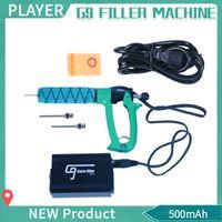 Аутентичные Greenlightvapes G9 Carts Filler Gun Machine 25 мл Полуавтоматическое устройство для заполнения жидкостью Vape E с иглой Luer Lock для картриджей