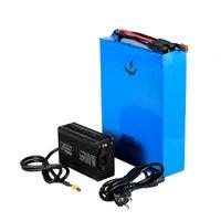 E-bike batteria agli ioni di litio 26S 96v 20Ah motorino elettrico della bicicletta 96v batteria 2000w per Panasonic Sanyo Samsung cella + 5A caricatore