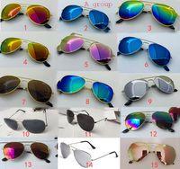 Stili protettivi Designer Designer Bambini Moda Boys Boys Sunglasses UV 28 Baby Eyewear 2021 Forniture per bambini Beach Sunshades Glasses E1000 SBHUW