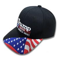 Trump2020 Chapéu New Style Popular Portátil Bonés de Beisebol Idéia Criativa Criativa Snapback Manter A América Grande Novamente 12 3ds p1