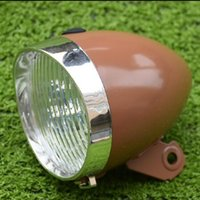 Q404 free shipping Bicycle retro lights headlamps warheads B...