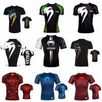 MMA deportivo UFC M1 Men T-shirt - Muay Thai boxeo Sudaderas JUJITSU ABSOLUTE RASHGUARD Venom con capucha Nightcrawler MMA Fighting T-Shirt Teees 88