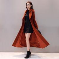 WERTUIOP Abrigo de lana largo y delgado Chaqueta femenina Ropa de abrigo Abrigos gruesos 2019 Invierno Nueva moda Tallas grandes Ropa de mujer Chaqueta Roja