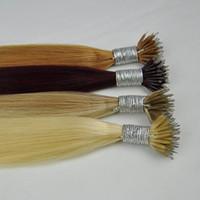 DHL فيديكس اللون 99J 18P60 613 12 مزدوج مرسومة الحرير مستقيم البرازيلي نانو عصابة الشعر 1G ستراند 100 جرام الكثير جودة أعلى جودة