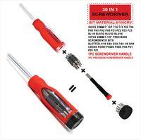 Ventas al por mayor! Juego de herramientas de mano de broca para destornillador de envío gratis 30 pzas para trabajo de mantenimiento de casa / automóvil