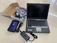 Per il software GM MDI Diagnostic Tool WiFi Software di interfaccia di scansione con laptop D630 RAM 4G Pronto al lavoro