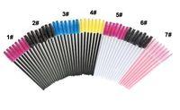 50 adet / torba Kirpik Fırçalar Makyaj Fırçalar Tek Kullanımlık Maskara Değnekleri Aplikatör Biriktiriciler Göz Lashes Kozmetik Fırça Makyaj Araçları DHL Ücretsiz