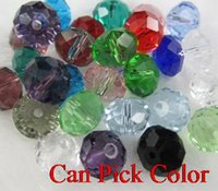 4mm 1000Pcs lot free shipping Mixed Faceted Rondelle Glass C...