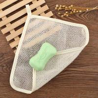 Ferramentas Nylon Espuma de malha saco de limpeza Duche espuma pano Fácil bolha malha saco 22 * 26cm HH9-2565