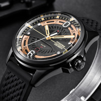 CWP Marque de luxe Pagani Design Hommes Montres Mode Strap Silicone Watch Quartz Watch Noir Gold Reloj Hombre Dropshipping