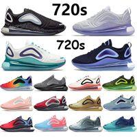 أن 720s صحيح الاحذية رجال الرياضة المدربين فولت الأسود النيون الشرائط النقي البلاتين الروح تيل الهراء البحر غابة الرياضة أحذية رياضية