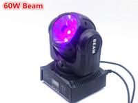 20X mini LED cabeza móvil 60W RGBW haz 4en1 movimiento haz de faro luz principal móvil súper brillante control DMX LED DJ luz de la colada