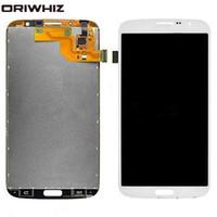 ORIWHIZ LCD 디스플레이 터치 디지타이저 화면 교체 어셈블리 삼성 갤럭시 메가 6.3 i9200 i9205 흰색과 파란색