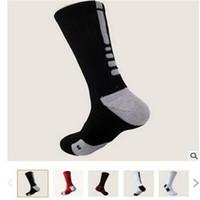 EE.UU. Profesional Elite Baloncesto calcetines largos de rodilla de compresión Moda Atlética calcetines de deporte para hombre térmicas calcetines del invierno al por mayor Hermosa