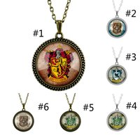 Harri potter Necklace Figure Toy Alloy Retro Time Gemstone P...