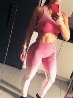 Leggings de gimnasio de cintura alta para mujer, medias de energía sin costuras, entrenamiento, ropa deportiva, pantalones de Yoga, ropa deportiva Sexy, ropa de entrenamiento, Venta caliente