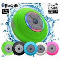 Com LED Lamp HIFI Waterproof Bluetooth Wireless Speaker Banho carro móvel de apoio orador telefone mãos livres cartão de dados