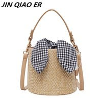 Straw Bags Lady Crossbody Bags For Women 2019 Summer Bucket ...